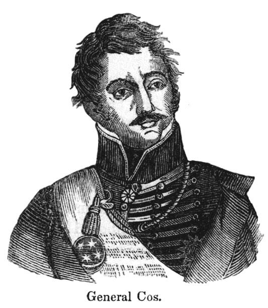 Gen. Martin Perfecto de Cos